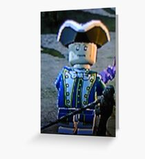 LEGO pirate Greeting Card