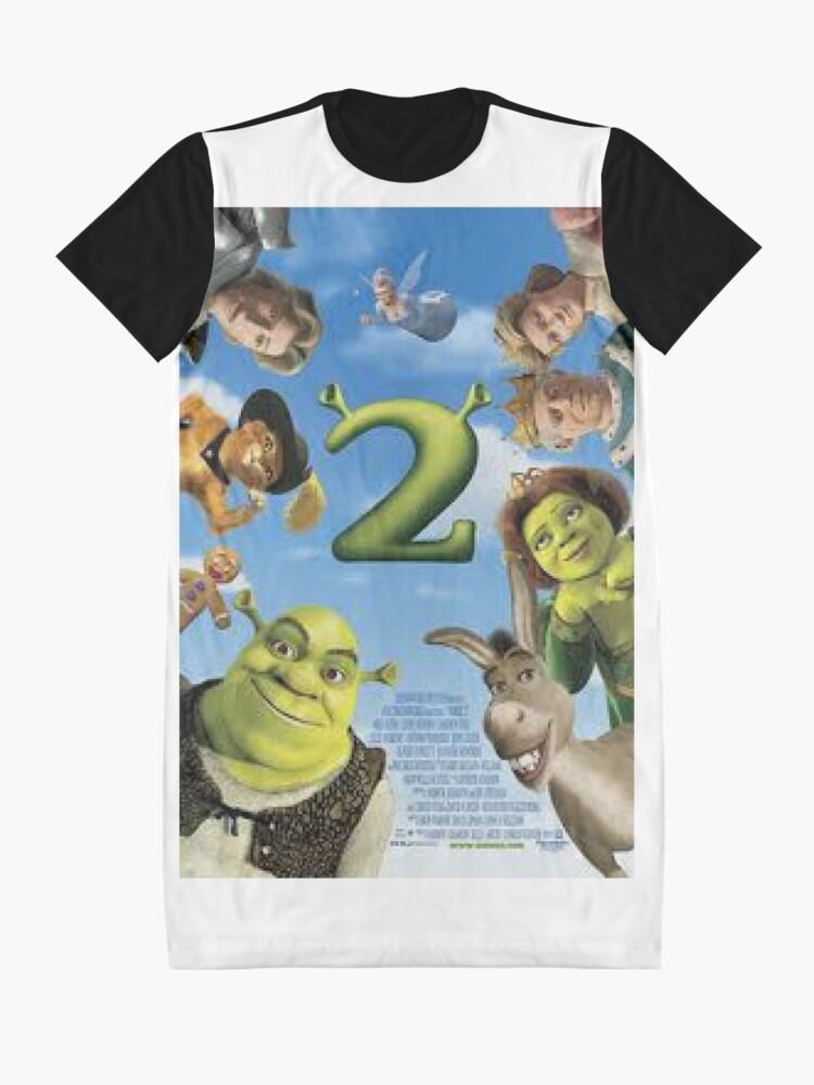 Alternative Ansicht von Shrek 2 T-Shirt Kleid