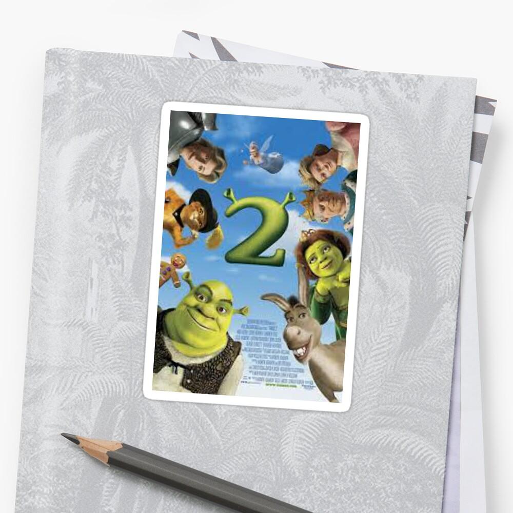Shrek 2 Sticker