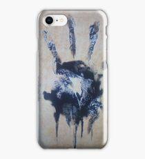 Black hand iPhone Case/Skin