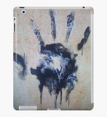 Black hand iPad Case/Skin