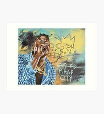 Good Kid M.A.A.D City Art Print