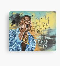 Good Kid M.A.A.D City Canvas Print