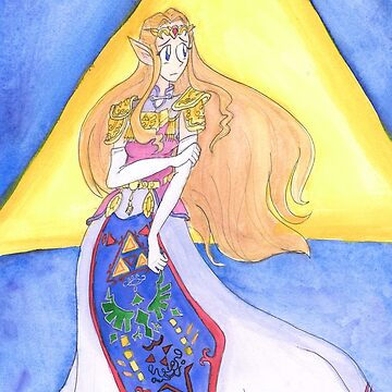 Princess Zelda by Enuwey