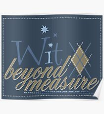 Wit Beyond Measure Poster