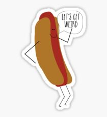 Hot doggy Sticker