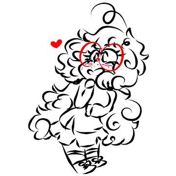 blushing maddie by Prince-Dannie