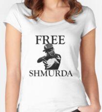 Free Shmurda Women's Fitted Scoop T-Shirt