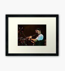 Ian Anderson of Jethro Tull Framed Print
