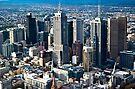 Melbourne CBD by Christine Wilson