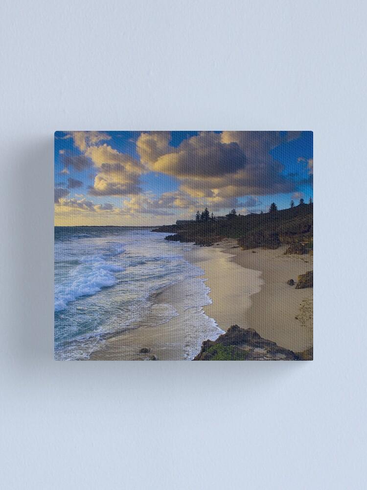 Alternate view of North Beach Canvas Print