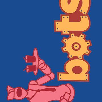 Bots 3 by Noveltee-Shirts