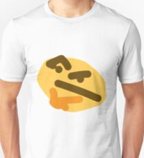 thinking emoji Unisex T-Shirt