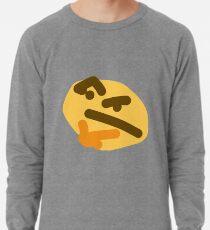 thinking emoji Lightweight Sweatshirt
