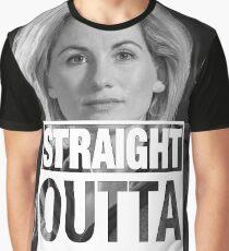 Straight Outta Gallifrey- Whittaker Graphic T-Shirt