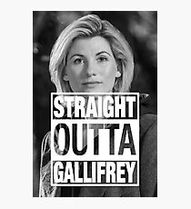 Straight Outta Gallifrey- Whitaker Photographic Print