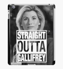 Straight Outta Gallifrey- Whittaker iPad Case/Skin