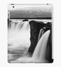 Godafoss - Black & White iPad Case/Skin