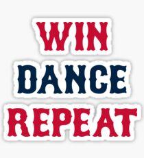 Red Sox Win Dance Repeat Sticker