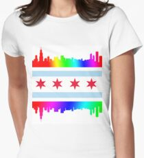 Chicago Pride Women's Fitted T-Shirt