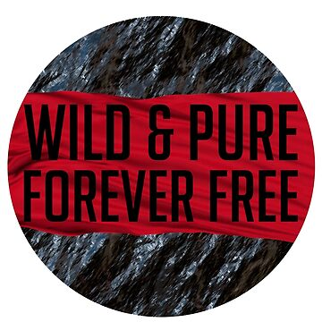 WILD AND PURE AND FOREVER FREE by Sidewalk