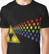 Dark Side of Rupees Graphic T-Shirt