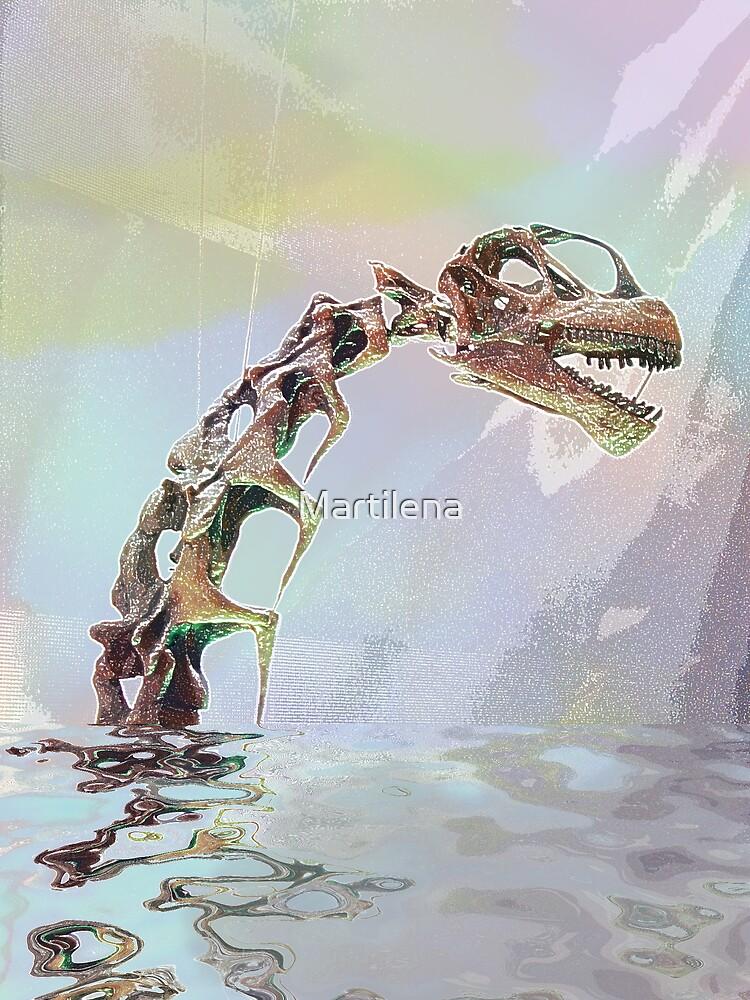 Monster of Loch Ness by Martilena