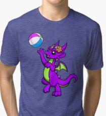 Beach Ball Dragon Tri-blend T-Shirt