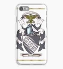 Brown Coat of Arms iPhone Case/Skin