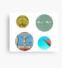 Saint Motel Sticker Pack Metal Print