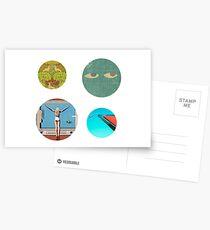 Saint Motel Sticker Pack Postcards