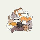pile-o-cat version 2.0 by michelledraws