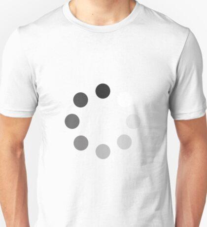 Rotating dots while downloading T-Shirt