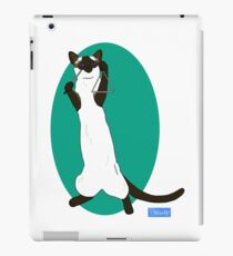 Triangle Playing Cat iPad Case/Skin
