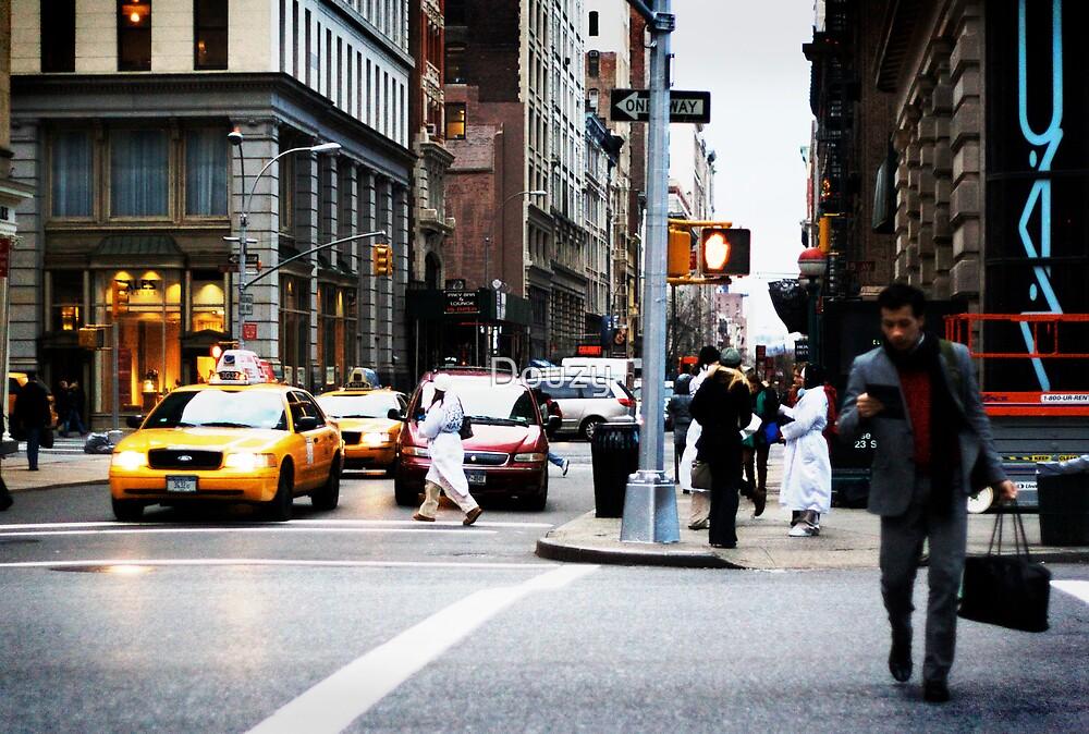 New-York or the Urban Buzz by Douzy