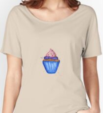 Hand drawn watercolor ice cream Women's Relaxed Fit T-Shirt