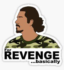 Ozzy Lusth- For Revenge... Basically Sticker