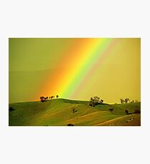 Rainbow above the Everton Hills Photographic Print