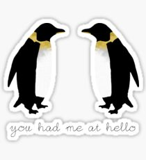 You Had Me At Hello Sticker