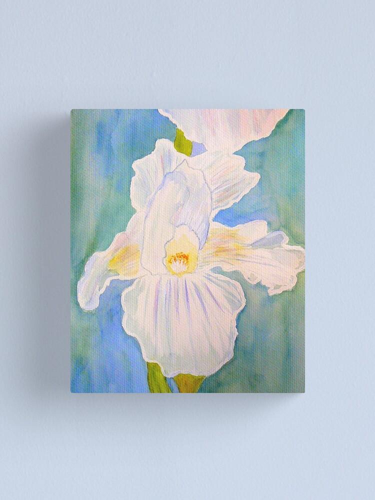 Alternate view of Immortality Iris Canvas Print
