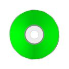 Green Compact Disc by valeo5