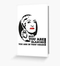 Bette Davis as Baby Jane Greeting Card