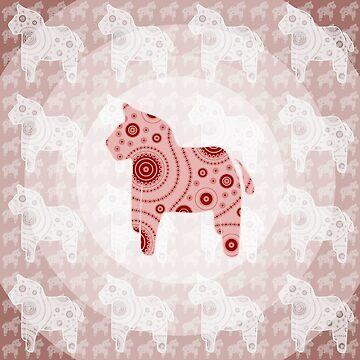 Toy Horse Pattern by illustrateme