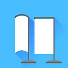 Vertical Beach Banner Icons by valeo5