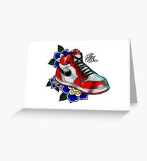 Jordan 1 Greeting Card