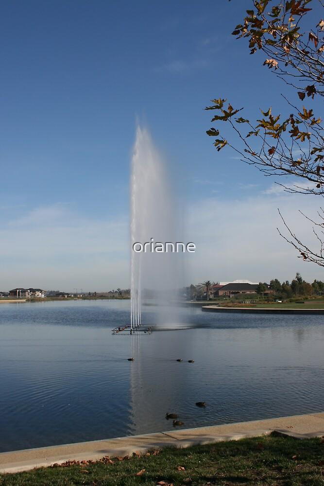 Water Spout by orianne