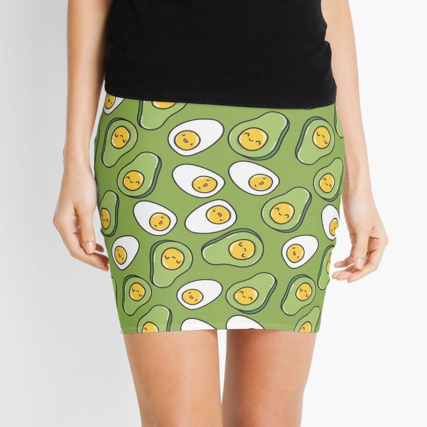 Ei und Avocado Minirock