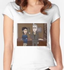 Librarians and the Werewolf Antidote Women's Fitted Scoop T-Shirt