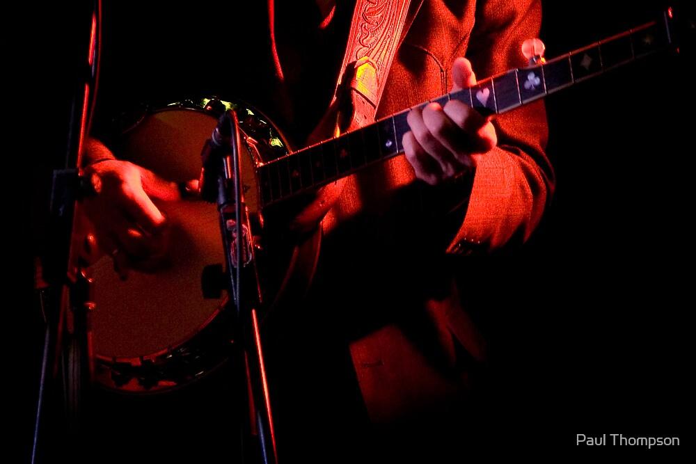 Rick Hunt - Banjo Playr by Paul Thompson