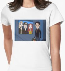 Librarians and the Time Loop Womens Fitted T-Shirt